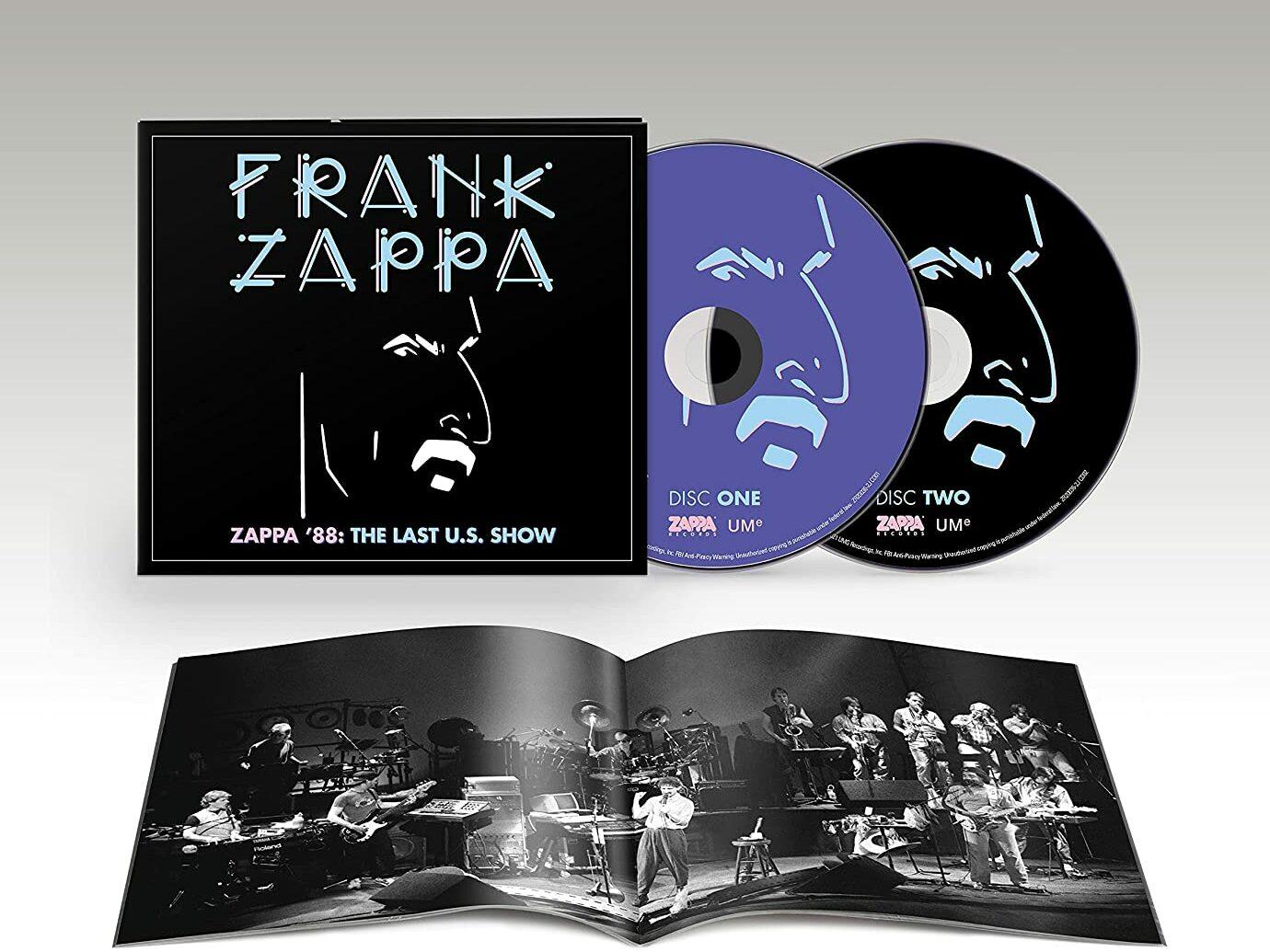 """Frank Zappa: l'ultimo live americano """"Zappa '88: The Last US Show"""" viene pubblicato per la prima volta – COMPRA"""