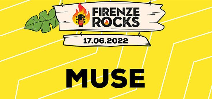 Muse: tornano in Italia con una data a Firenze Rocks IL 17 giugno 2022 – BIGLIETTI