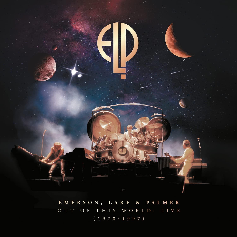 """Emerson, Lake & Palmer: il cofanetto di 10 LP/7CD dal vivo """"Out Of This World: Live (1970-1997)"""" esce il 29 ottobre – PRE-ORDINA"""