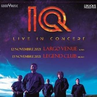 IQ: live in Italia 12/11/2021 – 13/11/2021 – BIGLIETTI