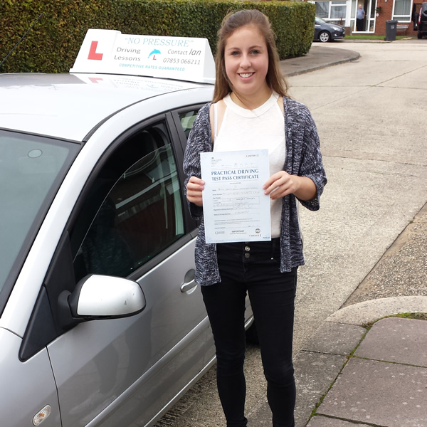 No Pressure Driving School Passers