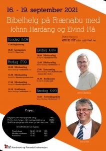 Bibelhelg med Johnn Hardang og Eivind Flå