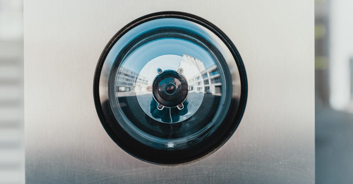 Kameraövervakning av källarförråd