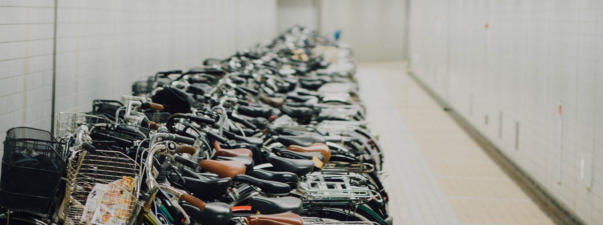 Mer utrymme för våra cyklar