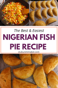Nigerian fish pie recipe
