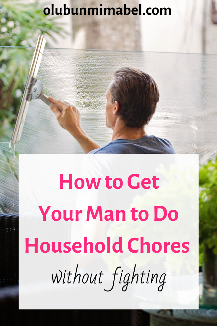 Sure-fire Ways to Make Your Husband Do Household Chores