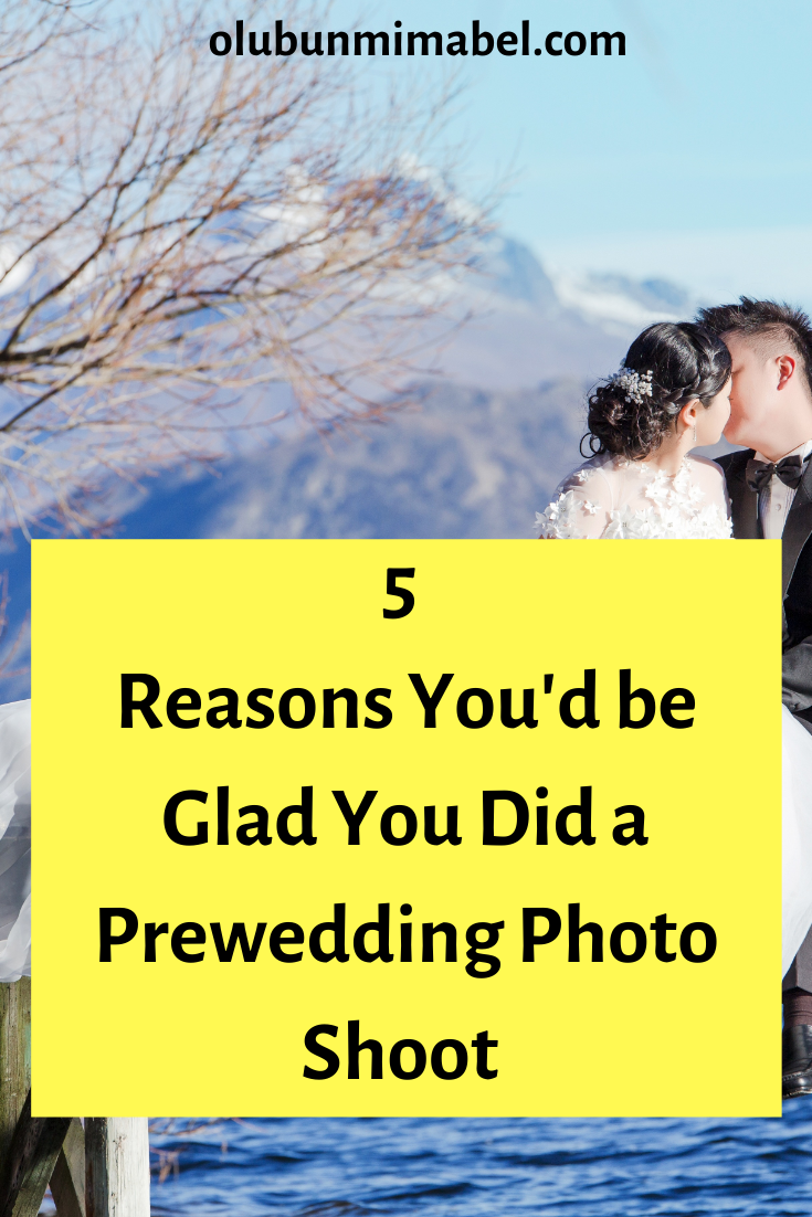 Top 5 Reasons Why You Should Do a Pre-Wedding Photo Shoot