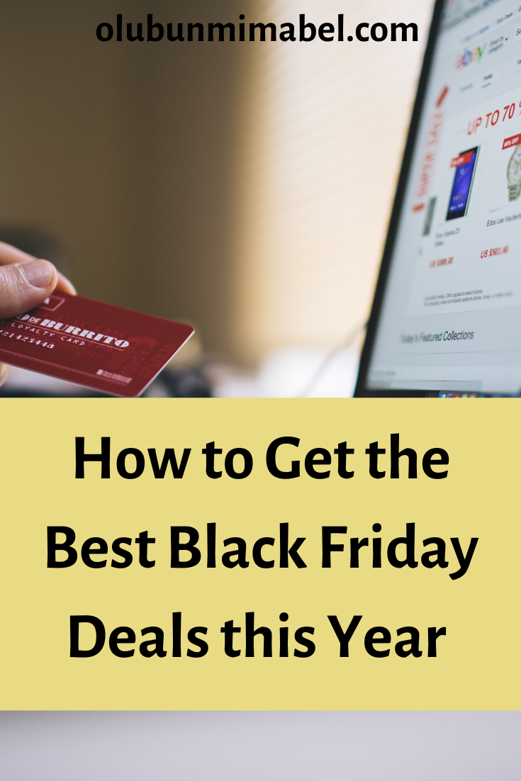 Black Friday 2019 : How to Get the Best Deals