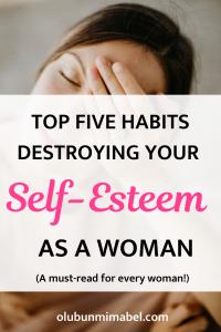 destroying self-esteem