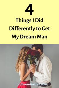 get my dream man