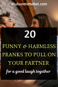 Funny pranks for Couples
