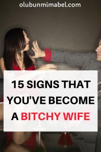 bitchy wife