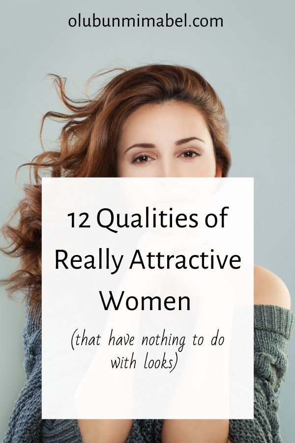 12 Qualities of an Attractive Woman
