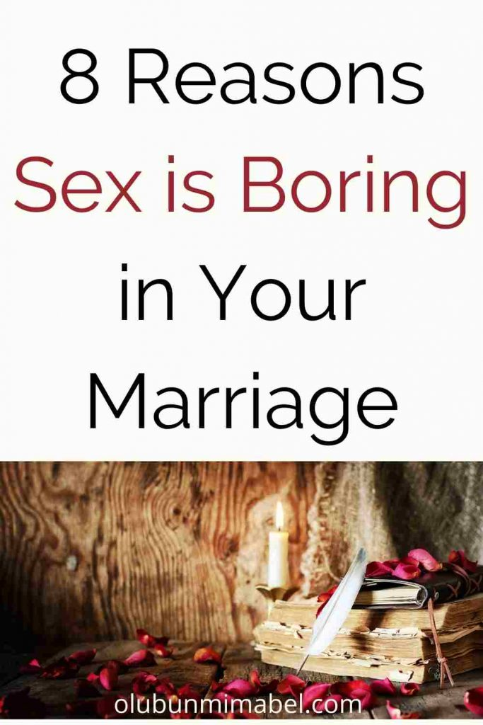 why sex in marriage is boring