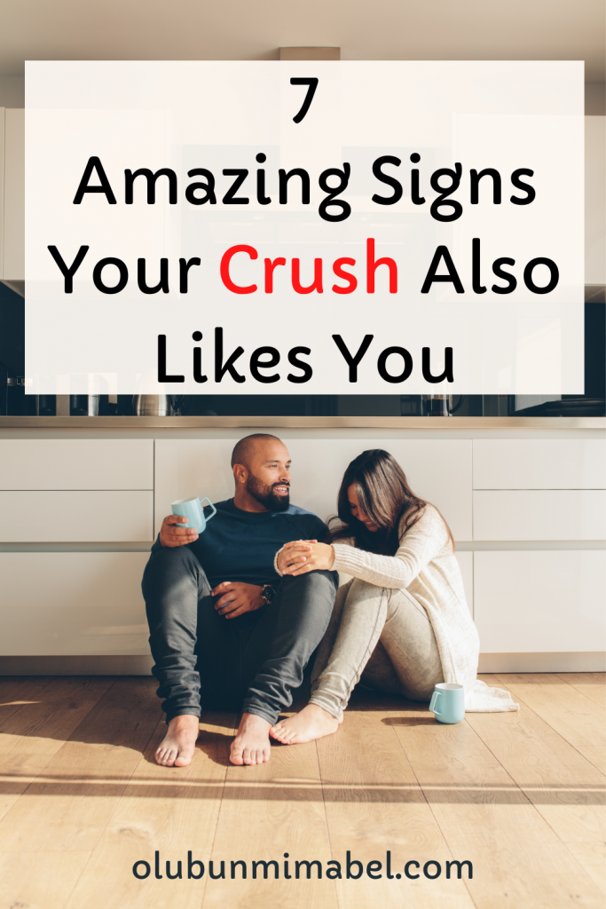 signs your crush likes you back