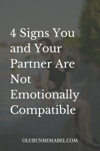 sexually compatible but not emotionally