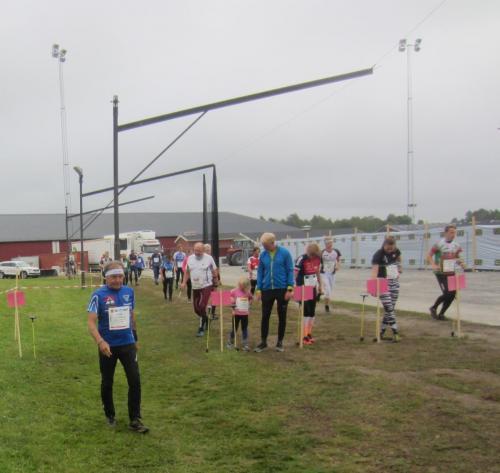 O-ringen 20190723 Finspång Dags för startpromenaden