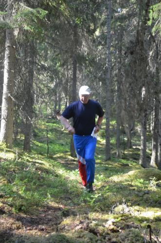En fotograf - bäst att börja springa