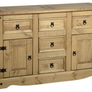 Corona 2 Door 5 Draw Sideboard