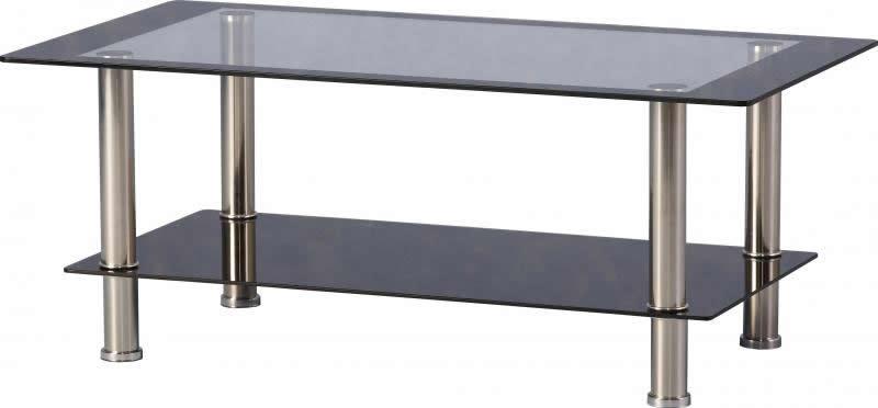 Harlequin Glass Coffee Table