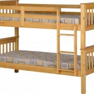 Neptune Oak Bunk Bed