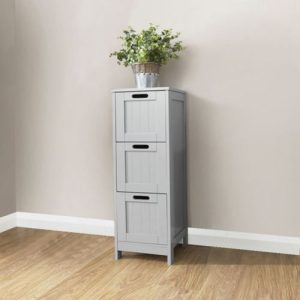 Grey Bathroom 3 Drawer Chest