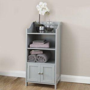 Grey Bathroom Deluxe Cupboard