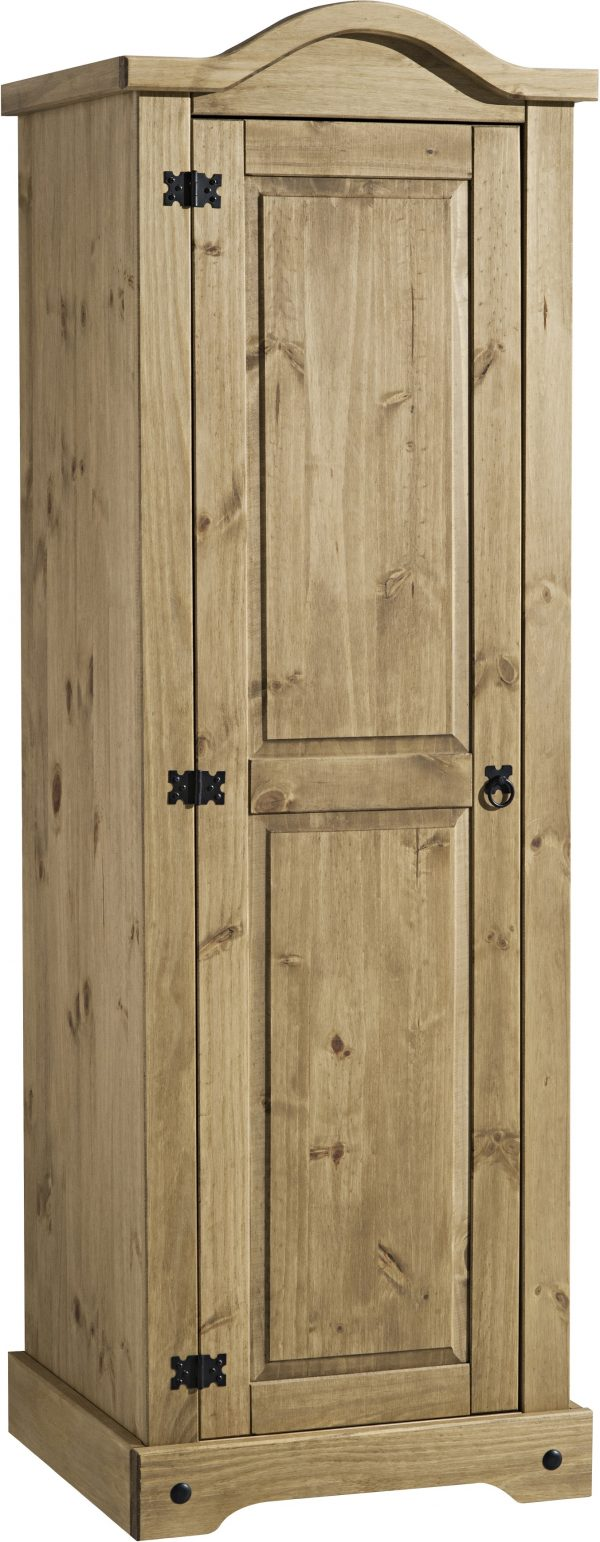 Corona Mexican Pine 1 Door Wardrobe