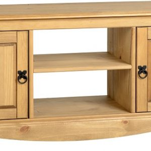 Corona 2 Door Flat Screen TV Stand
