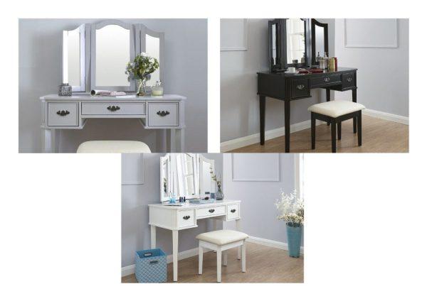 Bella Dressing Table Set