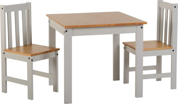 Ludlow Grey 2 Chair Dining Set