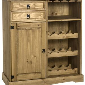 Corona Sideboard Wine Rack