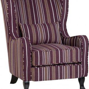 Sherbourne Burgundy Fireside Chair