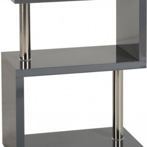 Charisma Grey Gloss 3 Shelf Unit