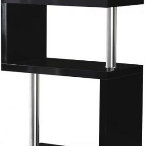 Charisma Black Gloss 5 Shelf Unit