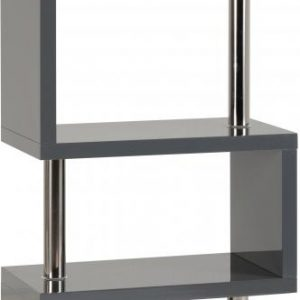 Charisma Grey Gloss 5 Shelf Unit