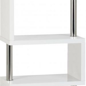 Charisma White Gloss 5 Shelf Unit