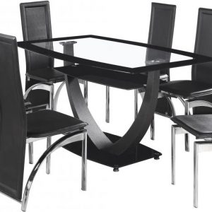 Hanley Dining Set With 6 Chairs