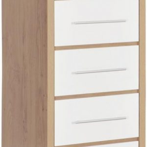 Seville Gloss 5 Drawer Narrow Chest