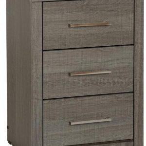 Lisbon 3 Drawer Bedside