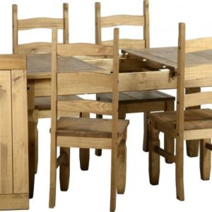 Corona Extending Dining Set - 6 Chairs
