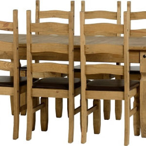 Corona Extending Dining Set - 8 Chairs