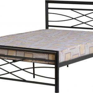 Kelly Black Metal Bed Frame