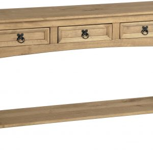 Corona 3 Draw Console Table