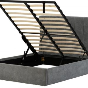 Amelia Fabric Ottoman Bed Frame