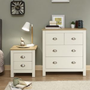 Lancaster Cream 2 + 2 Drawer Chest