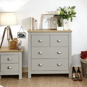 Lancaster Grey 2 + 2 Drawer Chest
