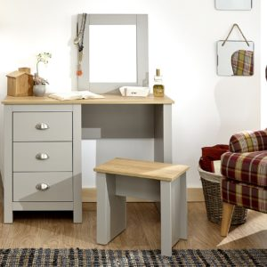 Lancaster Grey Dressing Table Set