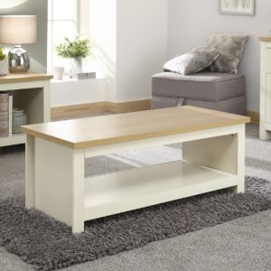 Lancaster Cream Coffee Table