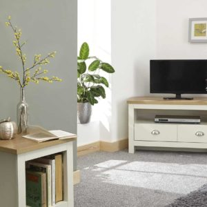 Lancaster Cream Corner TV Unit